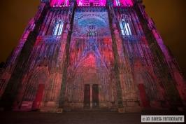 Straßburger Münster-Farbenspiel