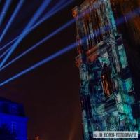 Straßburger Münster beleuchtet 2017