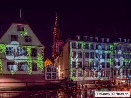 Straßburger Münster beleuchtet 2019